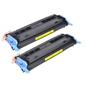 TonerGreen Cartridge 307 (9421A005AA) Yellow Compatible Printer Toner Cartridge Value Pack 2X